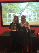 2016 Wingleader Award winner - Patti Champion and Casper